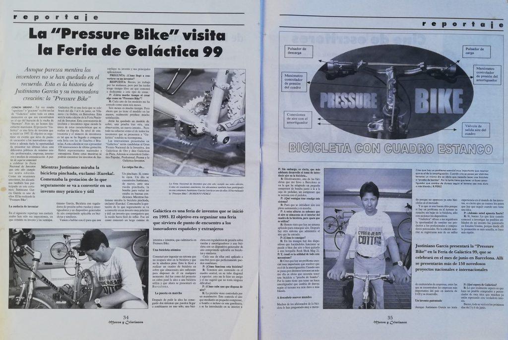 Reportaje de la Prensa de la Provincia de Alicantre el 28 Mayo 1999